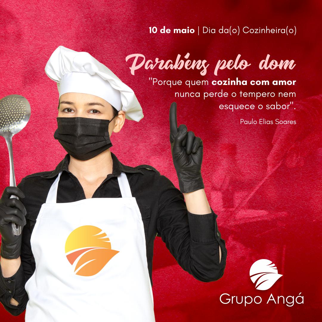 10 de maio – Parabéns Cozinheiras(os)